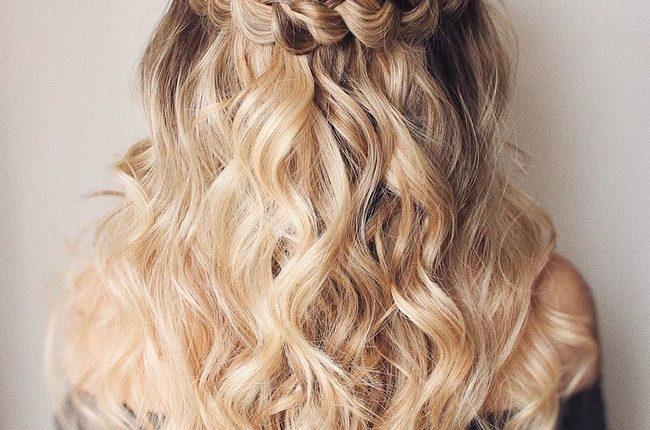 Olga Hampshire Half Up Half Down Wedding Hairstyles 33