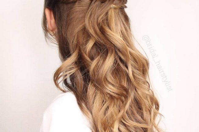 Olga Hampshire Half Up Half Down Wedding Hairstyles 4