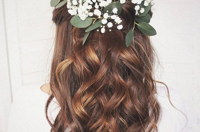 Olga Hampshire Half Up Half Down Wedding Hairstyles 5