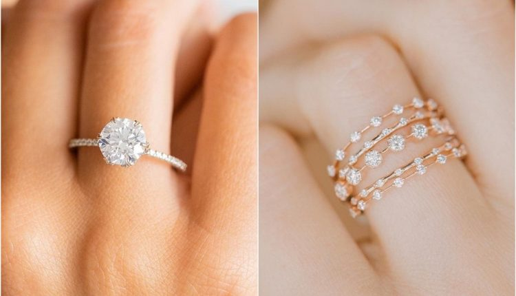 Vintage Engagement Rings and Wedding Bands from Melanie Casey Jewelry