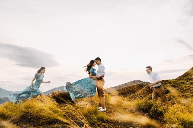 Double Exposure Engagement Photos #engagementphotos #engagement #photograph