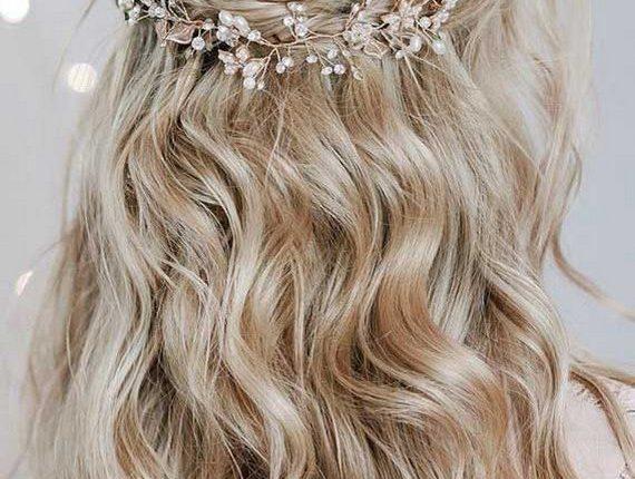 Half up half down wedding hairstyles 18