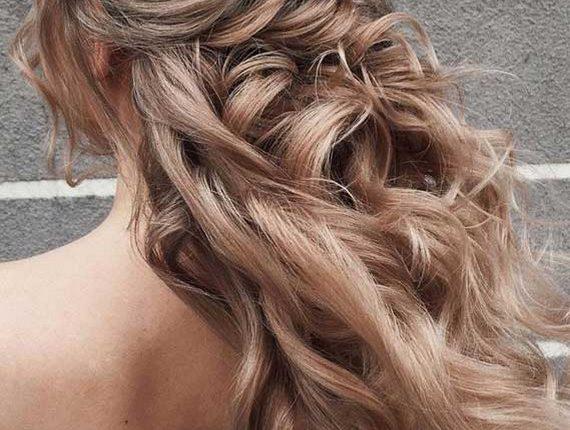 Half up half down wedding hairstyles 29