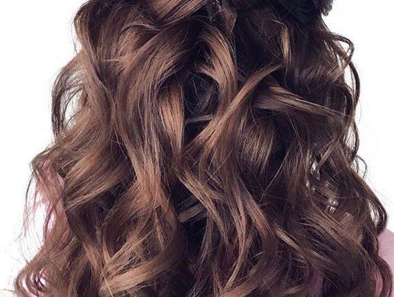 Half up half down wedding hairstyles 8
