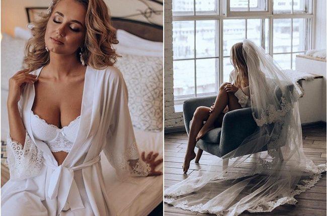 Sexy Bride Wedding Photos for Your Wedding Boudoir Book