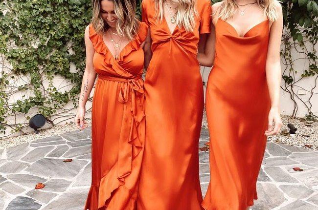 Silk Slip Bridesmaid Dresses 12