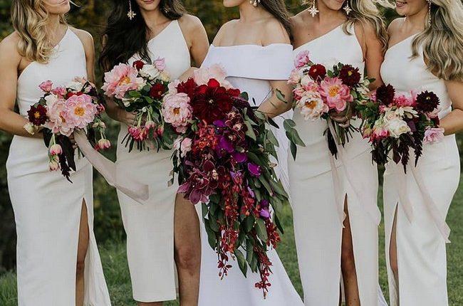 Silk Slip Bridesmaid Dresses 16