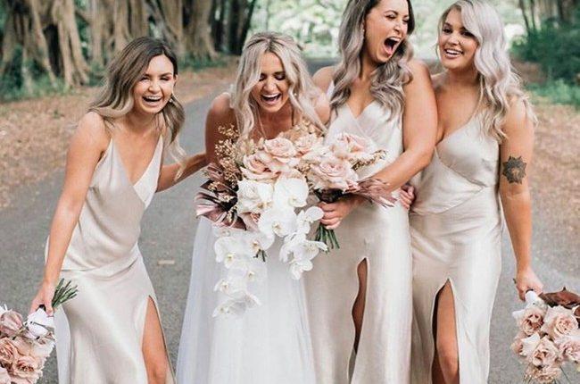 Silk Slip Bridesmaid Dresses 22