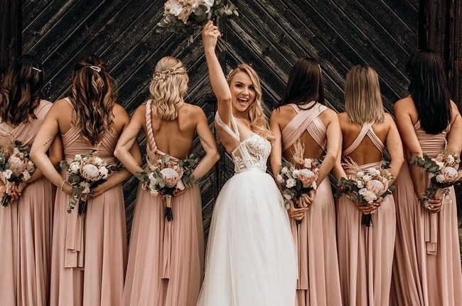 Wedding Photos With Your Bridesmaids 10