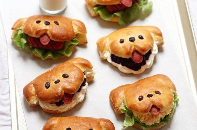 little doggy sandwiches
