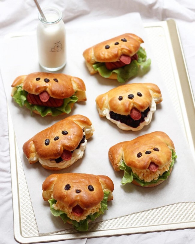 little doggy sandwiches