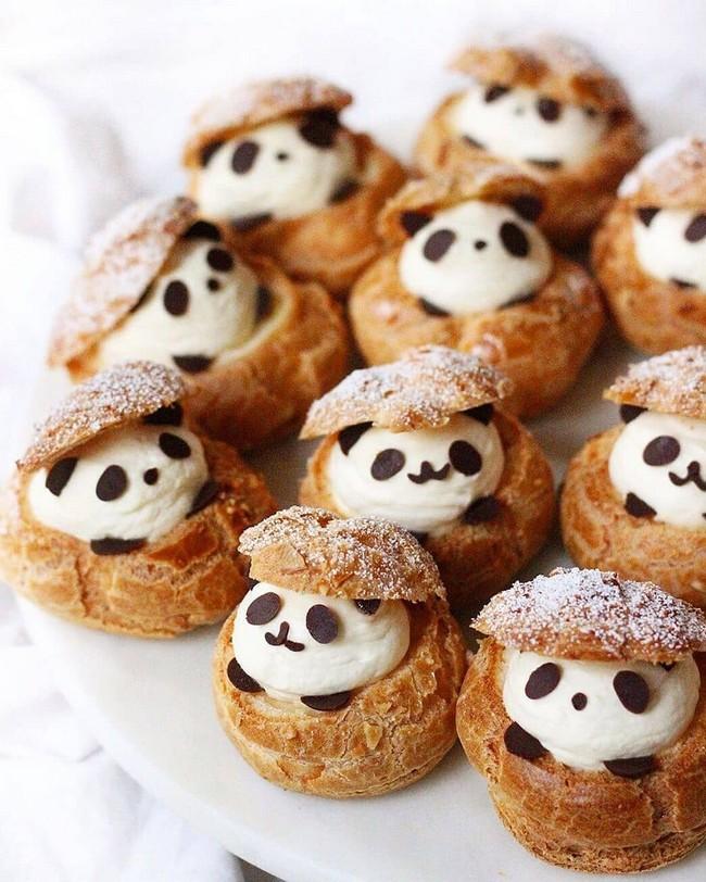 panda choux cream puffs