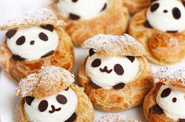 panda choux puffs
