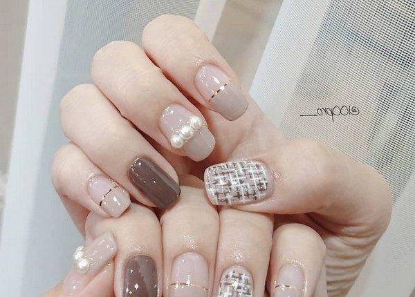 100pro Spring Summer Pastel Neutral Nail Art Designs 11
