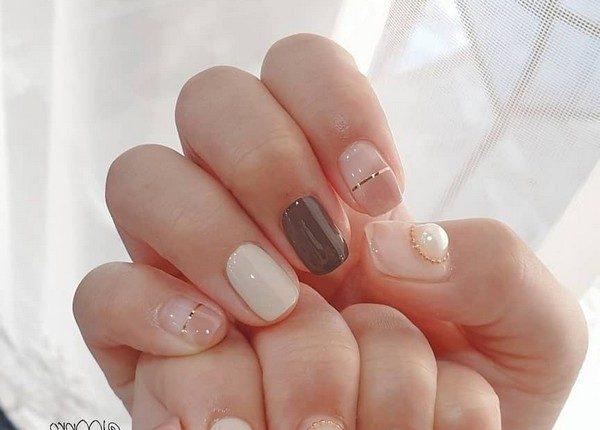 100pro Spring Summer Pastel Neutral Nail Art Designs 12