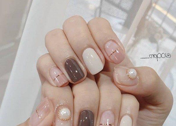 100pro Spring Summer Pastel Neutral Nail Art Designs 13