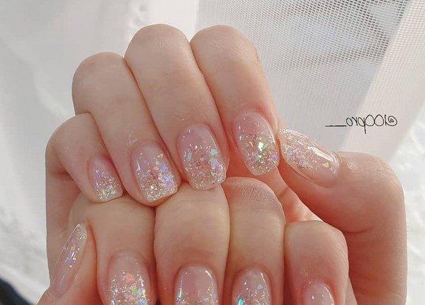 100pro Spring Summer Pastel Neutral Nail Art Designs 14