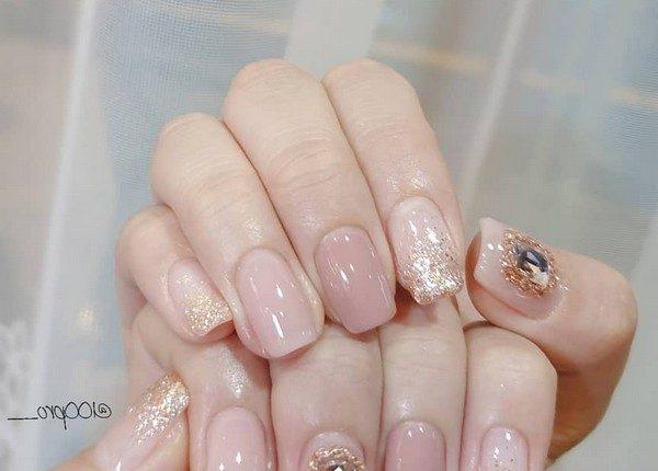 100pro Spring Summer Pastel Neutral Nail Art Designs 22