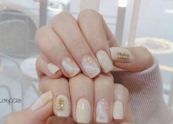 100pro Spring Summer Pastel Neutral Nail Art Designs 28