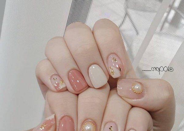 100pro Spring Summer Pastel Neutral Nail Art Designs 30