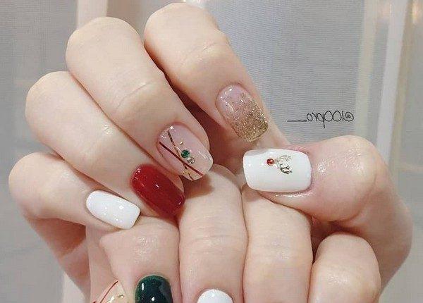 100pro Spring Summer Pastel Neutral Nail Art Designs 31
