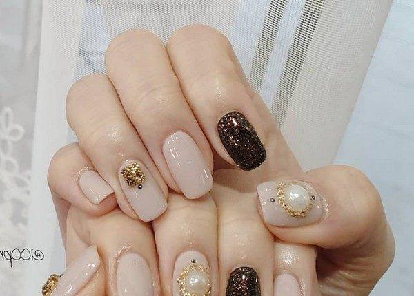 100pro Spring Summer Pastel Neutral Nail Art Designs 34