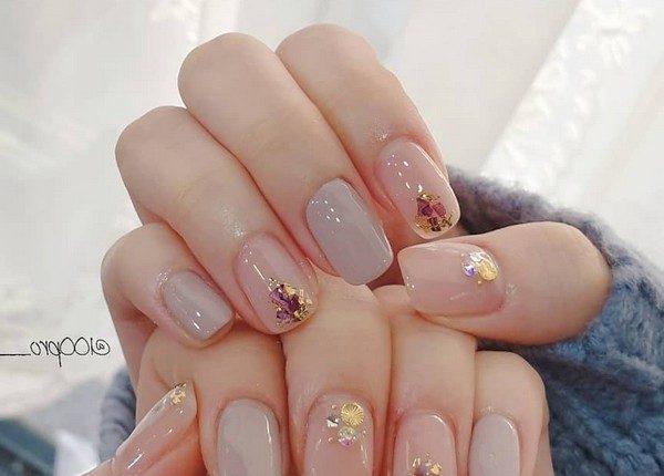 100pro Spring Summer Pastel Neutral Nail Art Designs 49