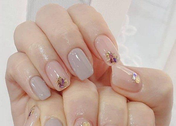 100pro Spring Summer Pastel Neutral Nail Art Designs 61