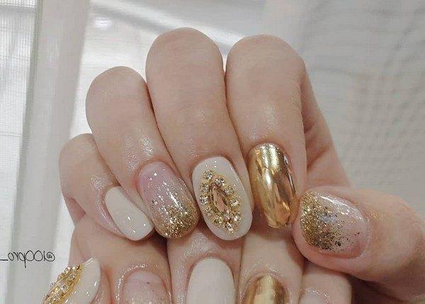 100pro Spring Summer Pastel Neutral Nail Art Designs 63