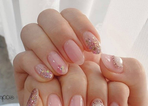 100pro Spring Summer Pastel Neutral Nail Art Designs 69