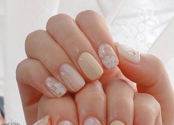 100pro Spring Summer Pastel Neutral Nail Art Designs 74
