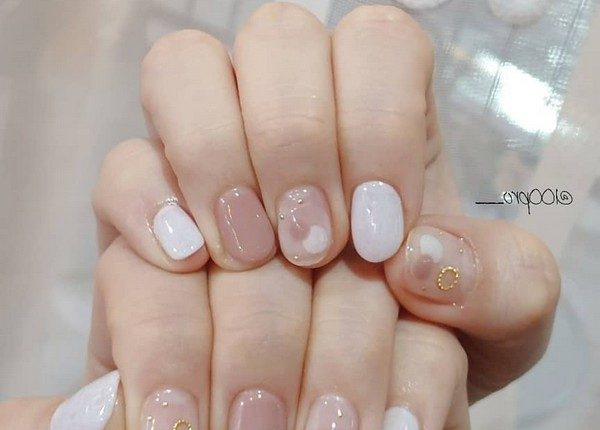100pro Spring Summer Pastel Neutral Nail Art Designs 8