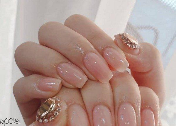 100pro Spring Summer Pastel Neutral Nail Art Designs 80