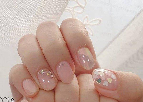 100pro Spring Summer Pastel Neutral Nail Art Designs 86