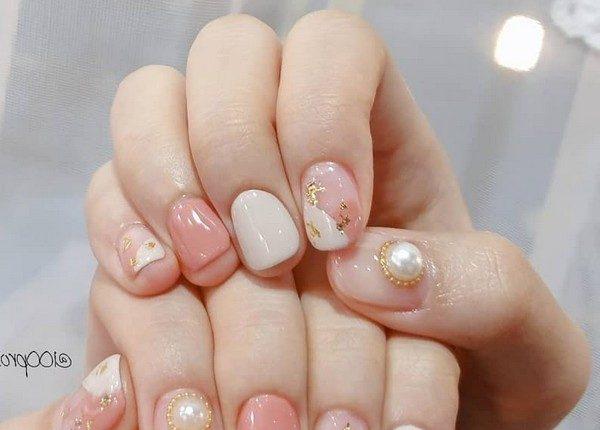 100pro Spring Summer Pastel Neutral Nail Art Designs 92