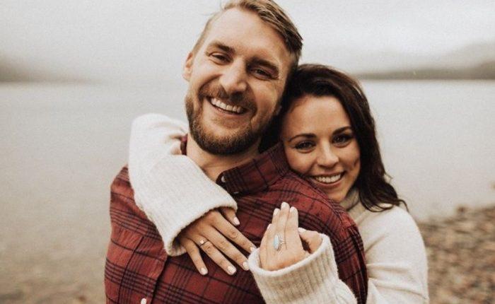 Engagement Ring Shot Engagement Photo Ideas16