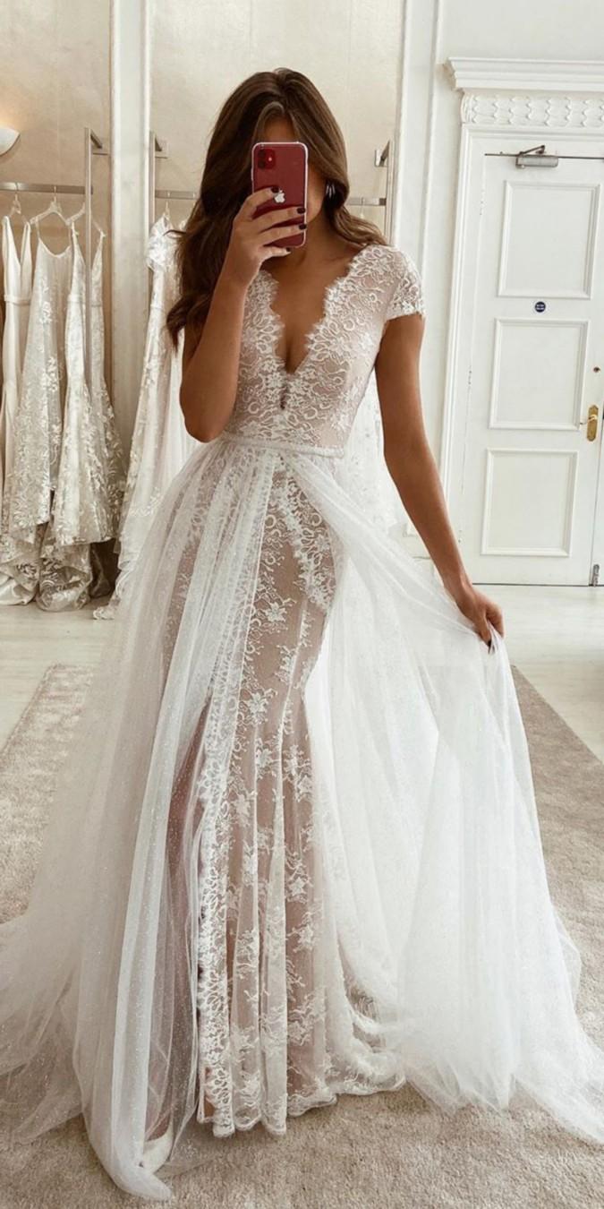 Eleganza Sposa Lace Wedding Dresses #dresses #wedding #weddingdresses #bridal #bridaldresses