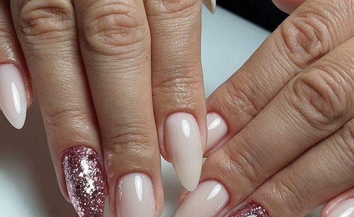 Pink White Nail Art Design Ideas 14