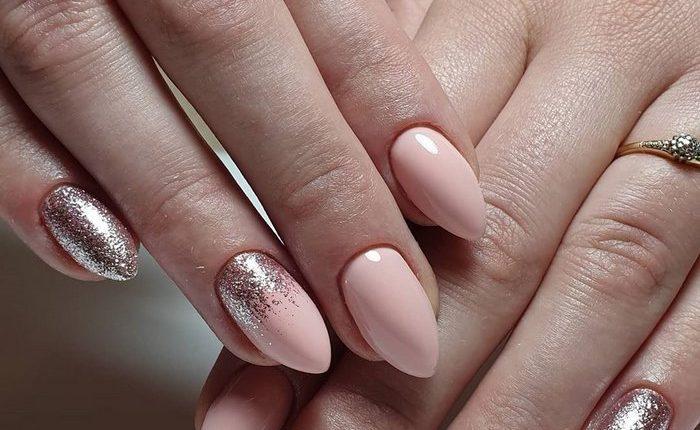 Pink White Nail Art Design Ideas 17