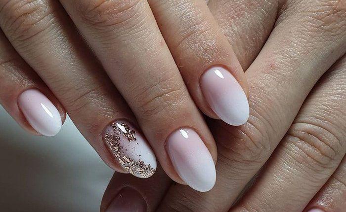 Pink White Nail Art Design Ideas 18