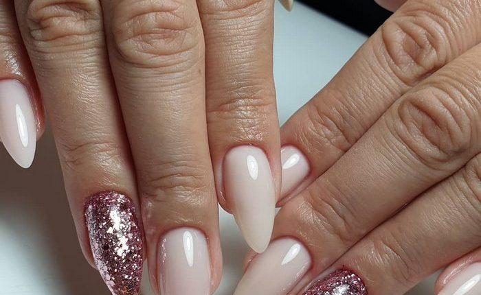 Pink White Nail Art Design Ideas 2
