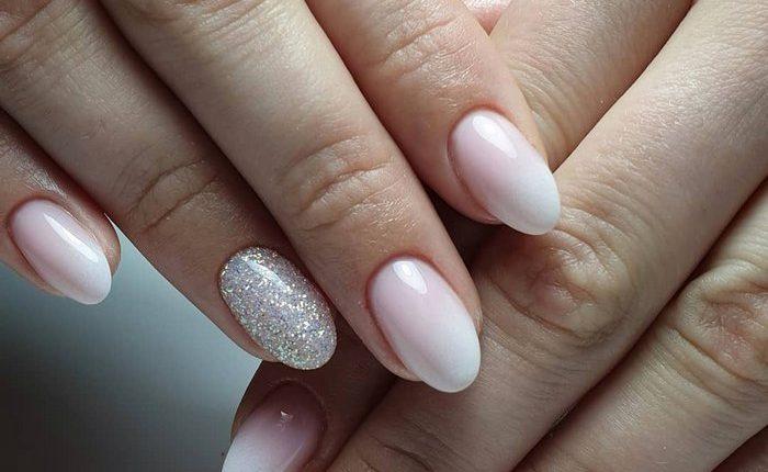 Pink White Nail Art Design Ideas 4