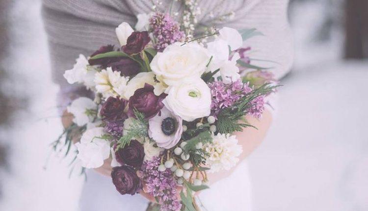 lavender wedding bouquet ideas