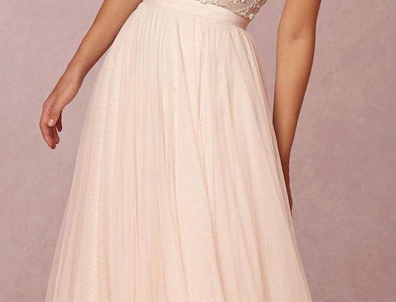 BHLDN beach wedding dress