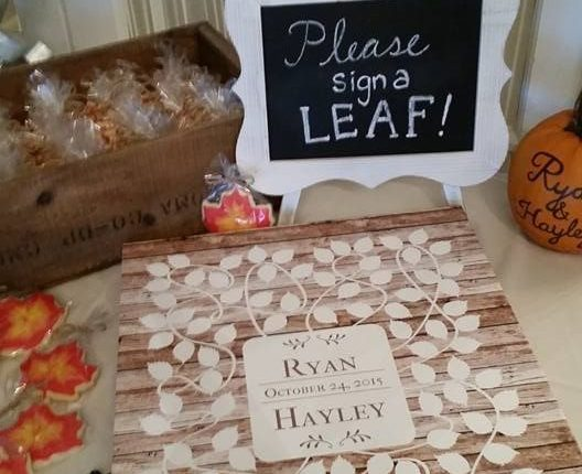 Barn wood Vinwik Wedding Guest Book Alternative