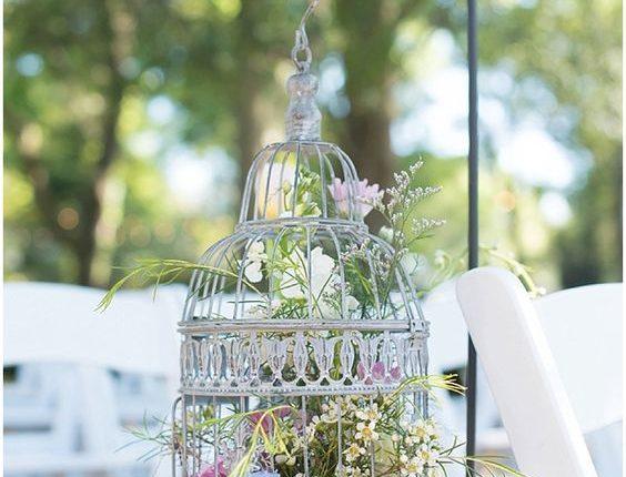 Birdcage Wedding Aisle Decor