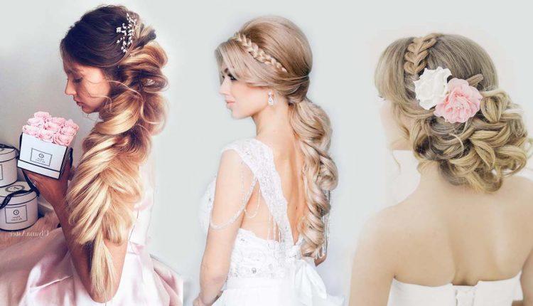 Braided wedding hairstyle ideas
