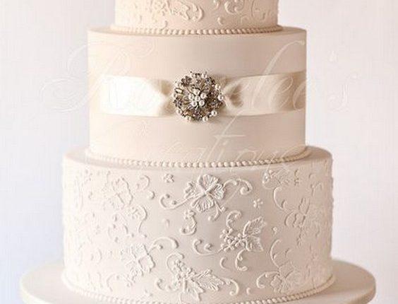 Elegant Vintage Wedding Cakes