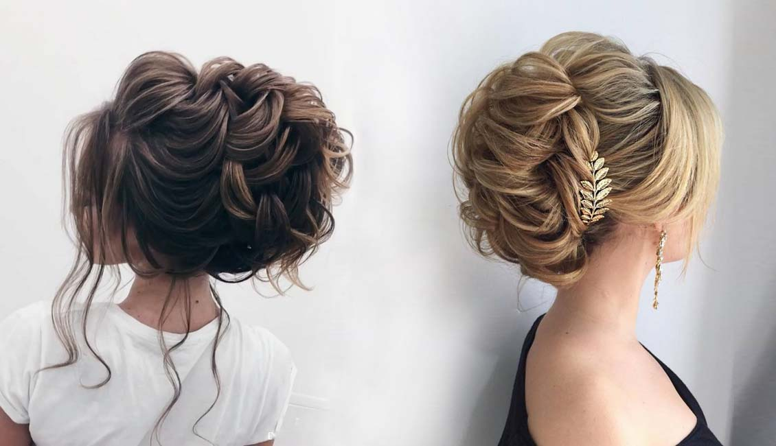 Top 20 Wedding Hairstyles For Medium Hair: Top 20 Elstile Wedding Hairstyles For Long Hair