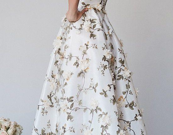 Lurelly bohemian wedding dress 3d-floral2